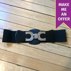 Express Belt with Silver Buckle